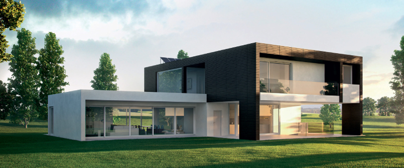 Costruzioni bio for Architettura moderna case